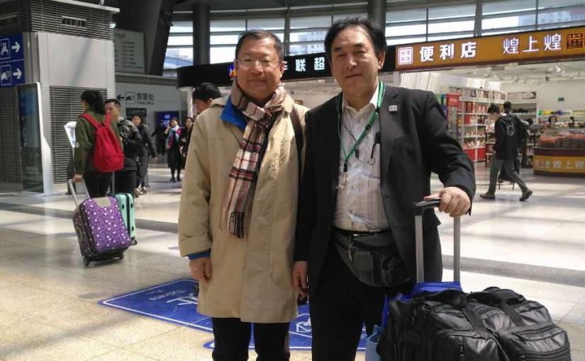 元部下と北京で再開